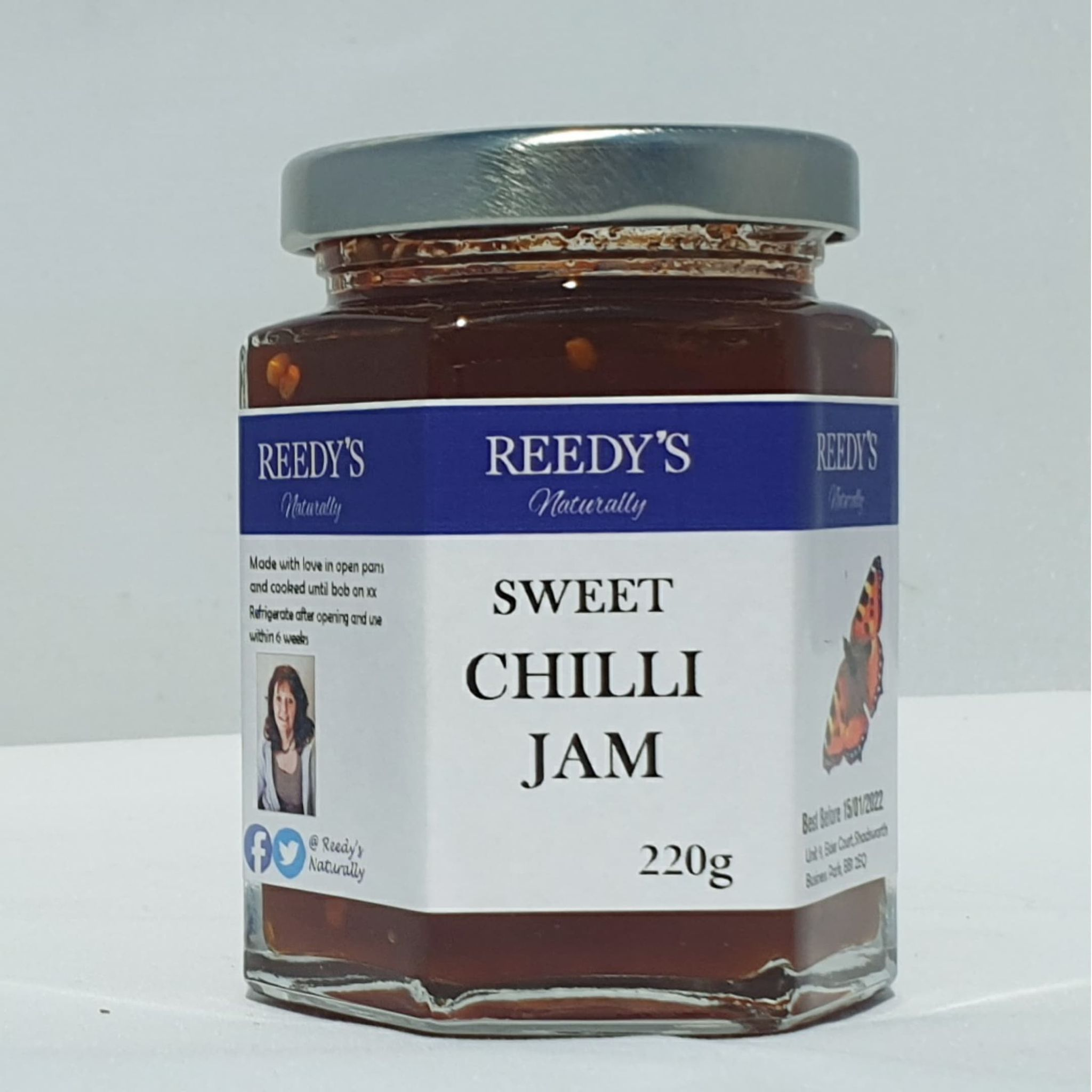 Reedy's Naturally - Jams & Chutn